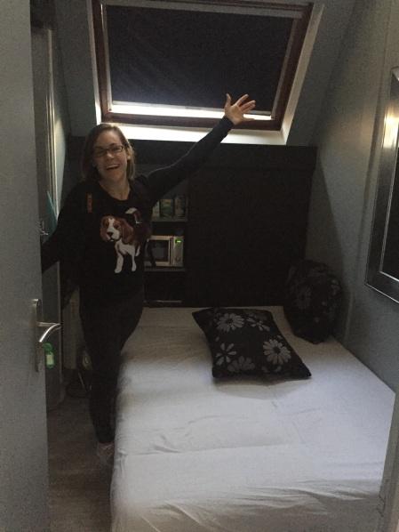 tiny airbnb room